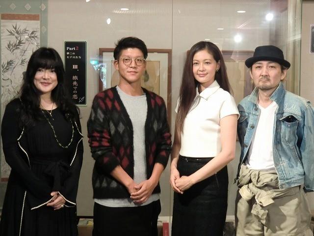 駿河太郎、竹久夢二生誕130周年記念作品で映画初主演