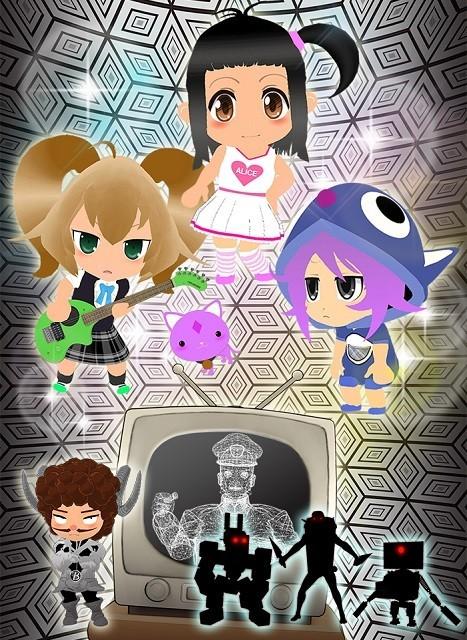 「劇場版gdgd妖精s 」同時上映のCGアニメ「なりヒロwww」10月からTVシリーズ化!