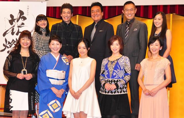「花燃ゆ」新キャストに松坂慶子、かたせ梨乃ら 先輩女優との共演に井上真央「いい女になれそう」