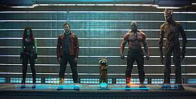 「ガーディアンズ・オブ・ギャラクシー」の一場面「アイアンマン」