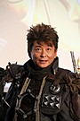 哀川翔、「牙狼<GARO>」重量級コスチュームでアクション披露