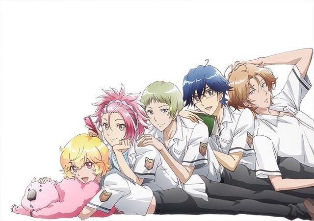 オリジナルアニメ「美男高校地球防衛部LOVE!」、来年1月放送決定!