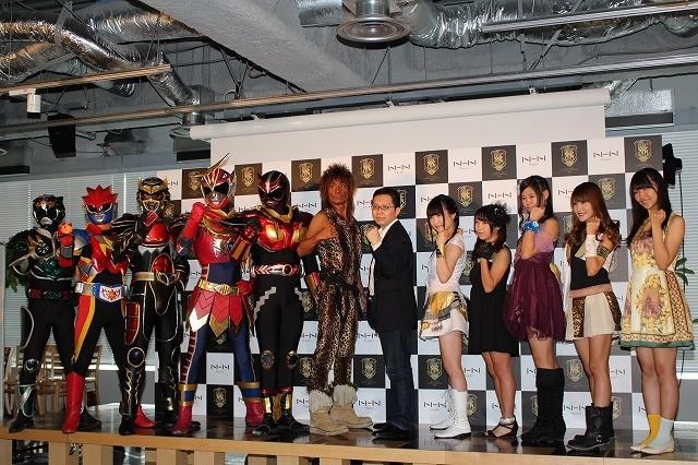 「ドラゴンネスト」スペシャルサポーターの座をかけご当地代表ヒーロー&アイドルが集結!