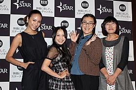 """""""こじらせ女子""""女子トークを 繰り広げたmisono(左から2人目)ら「タンポポ」"""
