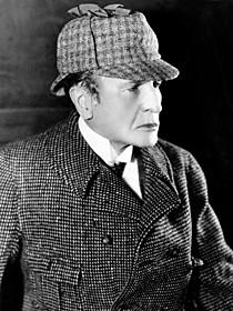 主演を務めたウィリアム・ジレット「シャーロック・ホームズ」