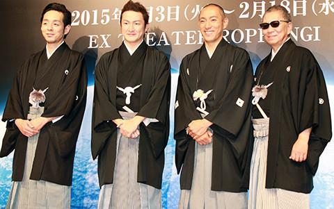 海老蔵&獅童+三池崇史&クドカンで史上初めて六本木で歌舞伎公演