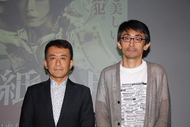 自身の創作活動を語った吉田大八監督(右)と 東京国際映画祭プログラミングディレクター矢田部吉彦氏