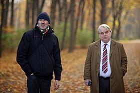 アントン・コービン監督とフィリップ・シーモア・ホフマンさん「誰よりも狙われた男」