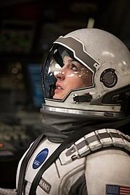 「インターステラー」でクリストファー・ノーラン 監督と再タッグを組んだアン・ハサウェイ「インターステラー」