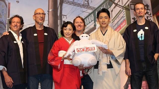 アナ雪に続くディズニー新作「ベイマックス」日本上陸!製作陣が日本愛を猛アピール - 画像1