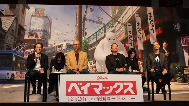 アナ雪に続くディズニー新作「ベイマックス」日本上陸!製作陣が日本愛を猛アピール - 画像5