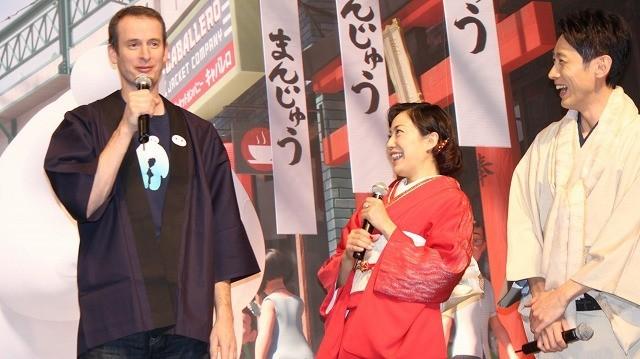 アナ雪に続くディズニー新作「ベイマックス」日本上陸!製作陣が日本愛を猛アピール