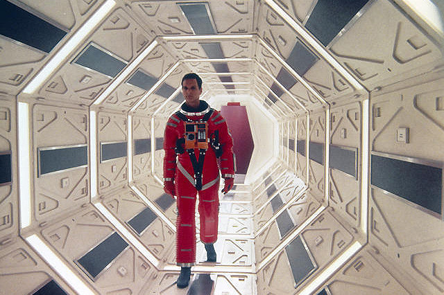 「2001年宇宙の旅」の一場面