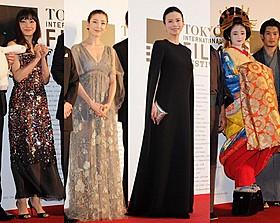 豪華女優陣が東京国際映画祭で美の競演!「紙の月」