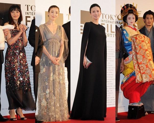 第27回東京国際映画祭 宮沢りえ、中谷美紀ら女優陣が美の競演!