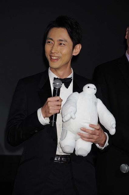 菅野美穂、ディズニー最新作の世界初上映に歓喜「東京を選んで頂いて嬉しく思う」