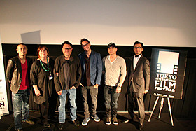ジェームズ・ガン審査委員長をはじめとする 東京国際映画祭コンペ部門の審査員たち「私の頭の中の消しゴム」