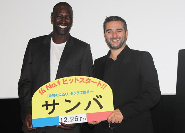 「最強のふたり」監督と主演オマール・シーが新作「サンバ」引っさげ来日!