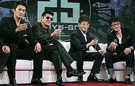 """東映Vシネマ25周年記念作品「25 NIJYU-GO」の""""コワモテ""""たち「25 NIJYU-GO」"""
