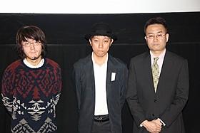 ティーチインに出席した太田信吾監督ら「解放区」