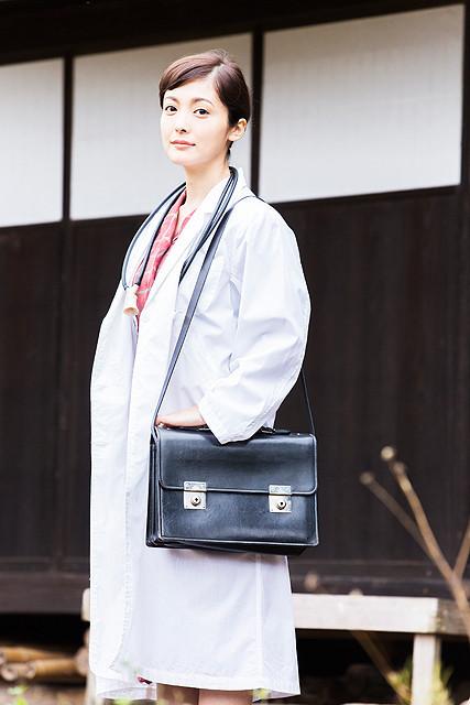 平山あや、へき地医療に生涯を捧げた志田周子さん描く「いしゃ先生」に主演