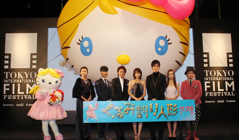 「くるみ割り人形」主演の有村架純、キティちゃんの生誕40周年をお祝い