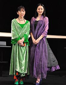 清少納言と紫式部を演じる斉藤由貴と長澤まさみ
