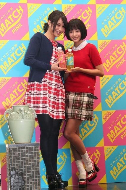広瀬アリス&すず姉妹、仲睦まじく高校生にエール!