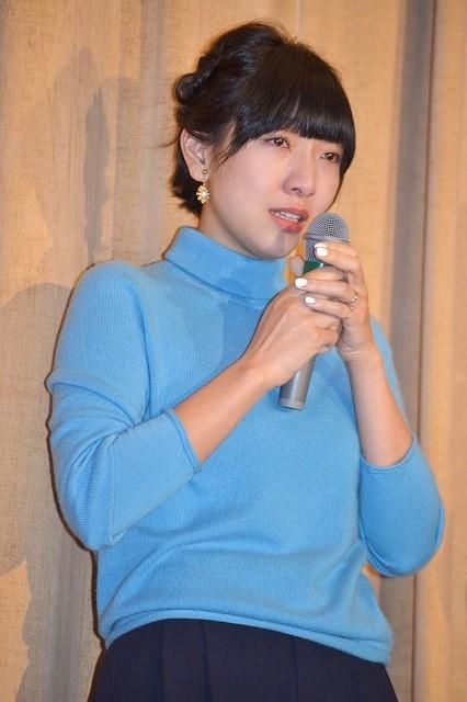 安藤サクラ、実姉が監督の主演作初日に感極まって号泣!