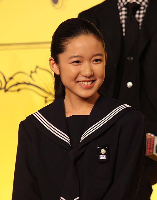 役名で女優デビューする14歳・藤野涼子、人生初会見で初々しい決意表明
