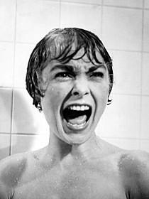 「サイコ(1960)」の一場面「サイコ(1960)」