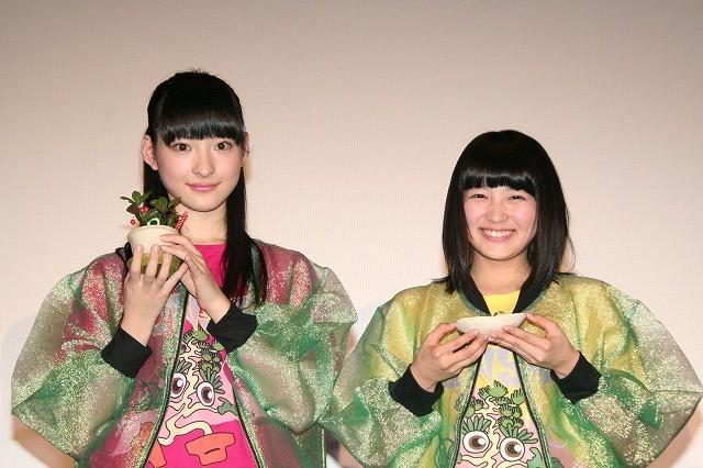 エビ中・松野莉奈&柏木ひなた、盆栽剪定作業をファンに凝視され「照れる!」 - 画像10