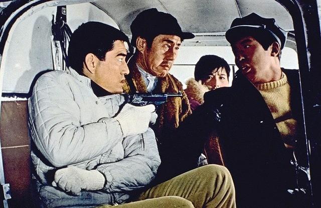 「網走番外地 北海篇」の一場面