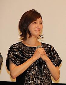 サプライズ演出に広末涼子は思わず感涙「ありがとう」