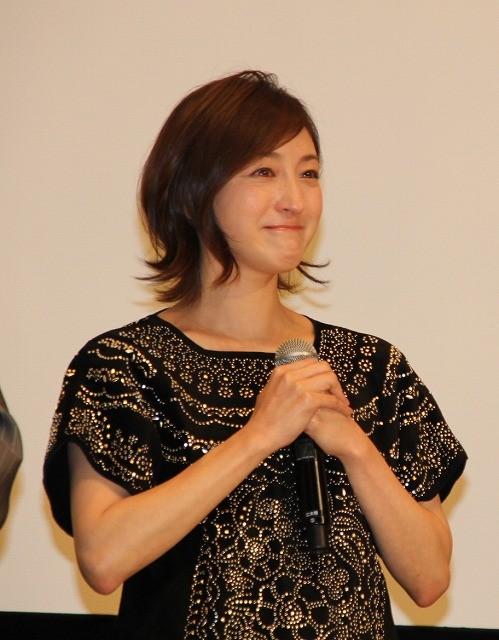 広末涼子、観客からのサプライズに思わず涙「頑張ったかいあった」