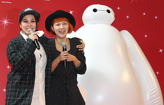 AI、実妹のサプライズに号泣!「ベイマックス」日本版エンドソングを熱唱