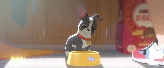 ディズニー短編アニメ「愛犬とごちそう」食べっぷりがキュートな特別映像公開