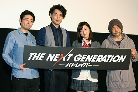 真野恵里菜「パトレイバー」恒例の舞台挨拶衣装は高校の制服「高まったファンがいて良かった」