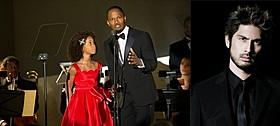 「ANNIE アニー」の一場面(左)と主題歌を歌う平井堅「ANNIE アニー」