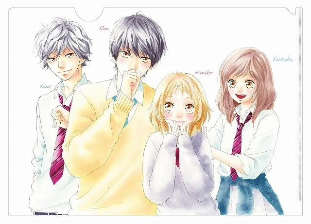 「ストロボ・エッジ」×「アオハライド」咲坂伊緒描き下ろしコラボビジュアル公開!