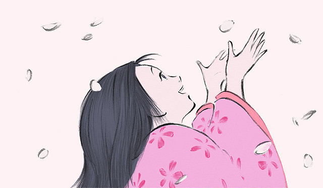 アニメ賞を受賞した「かぐや姫の物語」