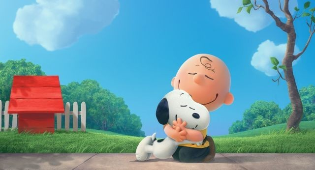 「I LOVE スヌーピー THE PEANUTS MOVIE」の一場面