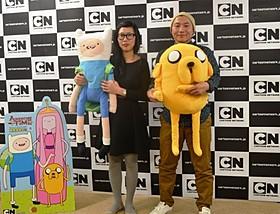 湯浅政明監督(右)とチェ・ウニョン監督
