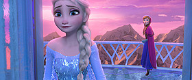 「アナと雪の女王」の一場面「マレフィセント」