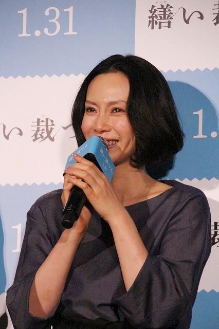 """中谷美紀、親友からの""""特別な1着""""に感涙!「アヤちゃんありがとう」"""