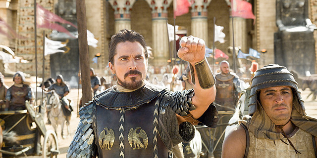 「エクソダス:神と王」が初登場1位