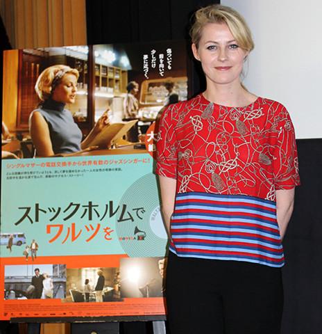 スウェーデンの歌姫エッダ・マグナソン、女優デビューの主演映画のヒットにご機嫌