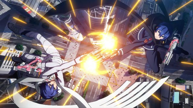 虚淵玄原案のアーケード対戦ゲーム「ガンスリンガー ストラトス」がアニメ化!