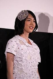満席の場内に笑顔の能年玲奈「海月姫」