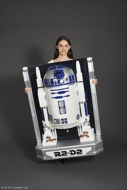 R2-D2がしゃべる等身大フィギュアに!レイア姫のセリフも内蔵